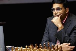 Viswanathan Anand was playing out his third decisive game.