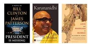 On the reading list this week - a thriller, a political biography, and a look at marriage in Mumbai.