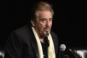 Actor Al Pacino attends a 35th anniversary screening Scarface at Beacon Theatre during the Tribeca Film Festival.
