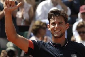 Dominic Thiem will play either Rafael Nadal or Juan Martin del Potro in the French Open final.