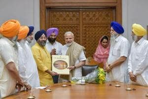 The Akali Dal delegation thanked PM Modi for the union government's decision to exempt Langar from GST.