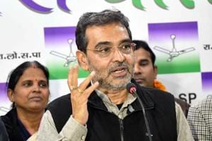 Union minister Upendra Kushwaha cited preoccupation in Delhi to excuse himself from the gathering of NDA leaders.