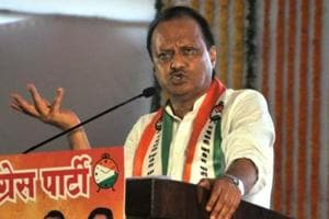Ajit Pawar, Nationalist Congress Party (NCP) leader and former deputy chief minister, Maharashtra