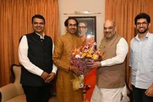 In the meeting, Shah is learnt to have offered Sena a favourable agreement for assembly polls if the latter contests the Lok Sabha polls with the BJP.