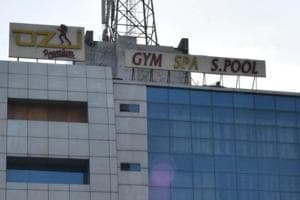 Ozi Gym and Spa, Industrial Area, Phase 8, has suspended operations since the mishap.