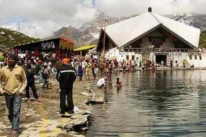 Hemkund Sahib in Chamoli district.