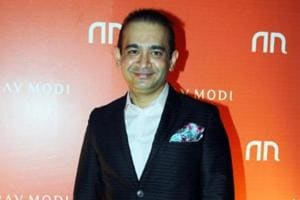 Indian jeweller Nirav Modi poses during the launch of his store in Mumbai. Nirav Modi is wanted by Indian investigative agencies in connection with a Rs 13,000-crore fraud at the Punjab National Bank.