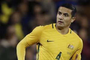 Tim Cahill has 50 goals for Australia football team, with five of them coming in World Cups.