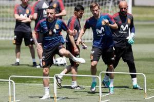 FIFA World Cup 2018: Spain prepare for Portugal clash in Krasnodar