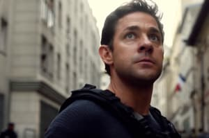 John Krasinski takes on the role that has been played by Alec Baldwin, Harrison Ford, Ben Affleck and Chris Pine.