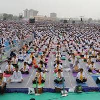 Prime Minister Narendra Modi will lead the international yoga day main event at the sprawling Forest Research Institute ground in Dehradun on June 21.