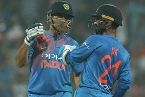 MS Dhoni's rise clashed Dinesh Karthik's loss of place from the Indian cricket team.