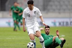 South Korea will bank heavily on winger Son Heung-min.