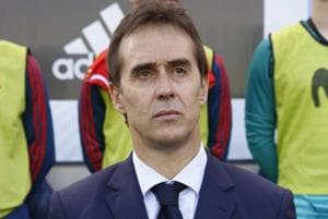 Julen Lopetegui will take over as the Real Madrid manager after the FIFAWorld Cup 2018.