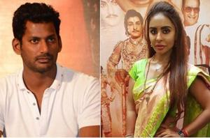Vishal wants Sri Reddy to produce evidence along with her accusations.