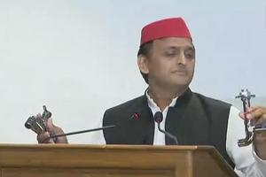 Akhilesh said the Bharatiya Janata Party, which is in power in UP, is rattled after repeated defeats in recent by-elections.