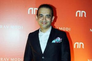 The CBI had issued a diffusion notice in February against Nirav Modi (pictured), his wife Ami, brother Nishal, and uncle Mehul Choksi.