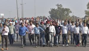 The state government, which approved the policy on March 7, has been keen to implement it from the current academic session, but had to put that on hold due to the teachers' protest.