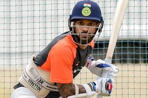 Shikhar Dhawan raised injury concerns ahead of the one-off Test against Afghanistan.