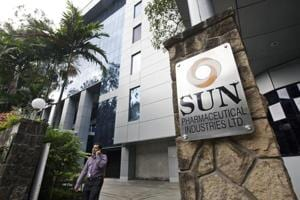 Sun Pharma's shares climbed as much as 3.8% early Wednesday, heading for the highest level since February.