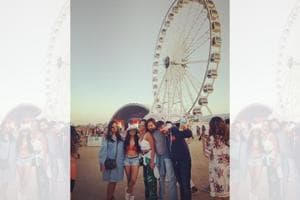 A picture in front of the epic ferris wheel is a must-do for all Coachellers