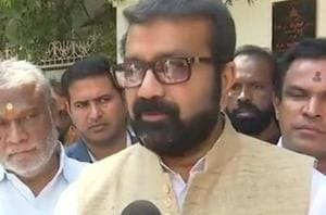 NA Haris is Congress MLA from Shantinagar in central Bengaluru. His son Mohammad Nalapad was expelled from the party over the alleged attack on the youth.