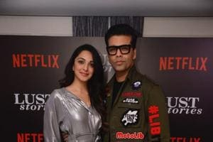 Kiara Advani stars in one of the stories in Lust Stories, directed by Karan Johar.