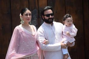 Kareena Kapoor Khan along with her husband Saif Ali Khan and son Taimur are holidaying in London.
