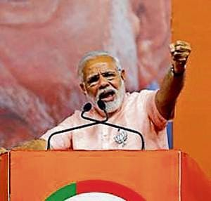 Modi has also suggested that the state government involve gram panchayats and other grassroots level organisations in conservation efforts.