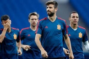 Spain will look to forget the crisis surrounding their head coach situation as they face Portugal in the FIFAWorld Cup 2018 on Friday.