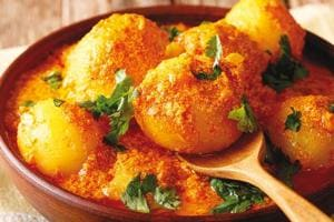 There are various versions of dum aloo, and all of them are nice