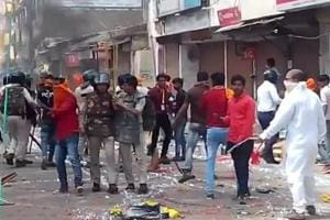 Violence broke out in MP's Shajapur after Muslims pelted stones on a procession taken out to celebrate Maharana Pratap's birth anniversary.