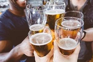 While sale of beer saw a relatively moderate 14.26 per cent jump, wine saw the highest increase, with an increase of 42.96 per cent when compared to figures of April 2017.