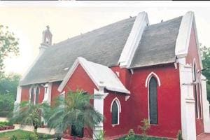 The Church of Epiphany in Civil Lines area in Gurugram.