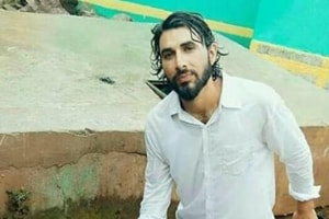 Army rifleman Aurangzeb was posted with the 44 Rashtriya Rifles camp at Shadimarg in Shopian. He was abducted and killed by suspected Hizbul militants on Thursday.