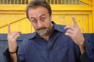 Ranbir Kapoor plays Sanjay Dutt in Sanju.