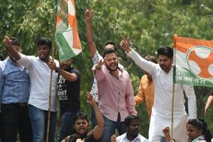 The Youth Congress and the National Students Union of India are among the five frontal organisations of the Congress.