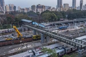 After the block, local train services towards Kalyan will be operated from the west side of the new platform at Parel.