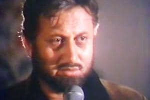Anupam Kher played a drunkard father to Pooja Bhatt in Daddy.