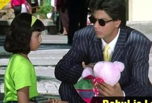 Actor Shah Rukh Khan played a single father, who was seen balancing work and his daughter's extracurricular activities, in the film Kuch Kuch Hota Hai (1998).