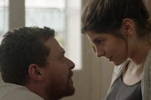 A still from the Greek film Kissing? by Yannis Korres.