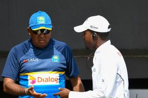 Sri Lanka were allegedly accused for ball-tampering on the third day of the St.Lucia Test.
