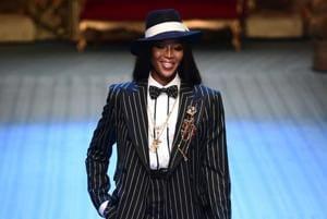Naomi Campbell, Monica Bellucci rock the ramp at Milan men's fashion week