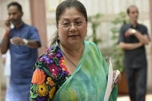 Raje has also demanded that the proposed Eastern Rajasthan Canal Project, which will benefit 13 districts of Rajasthan, should be designated as a national project.
