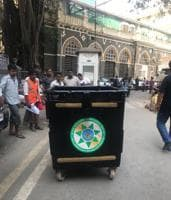 BMC had set up 24 collection bins across the city to collect plastic waste.