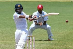 Kusal Mendis smashed 87 and shared a vital partnership with Dinesh Chandimal as Sri Lanka ended day 4 with a lead of 287 against West Indies.