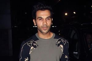 Indian Bollywood actor Rajkummar Rao poses for a photograph during a promotional event for Hindi film Veere Di Wedding in Mumbai on late May 30, 2018.