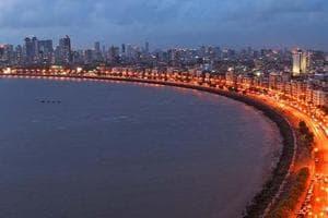 Marine Drive in south Mumbai