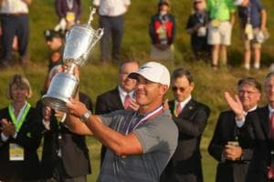 Brooks Koepka became the first player to successfully defend the USOpen title in 30 years as he won the 2018 title by one stroke.