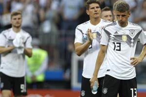 Germany were defeated by Mexico in their opening match of the FIFAWorld Cup 2018 in Moscow on Sunday.